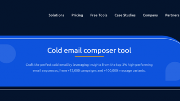 Free Cold Email Composer to Draft Quality Emails with Expert Instructions