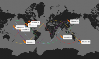 Track Starlink Satellites Online on this Free Website