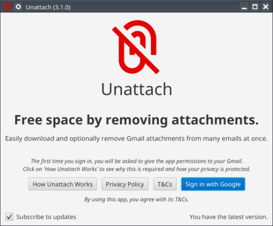 Unattach Main UI