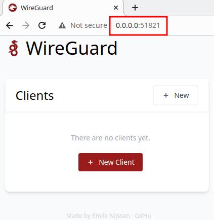 WireGuard UI