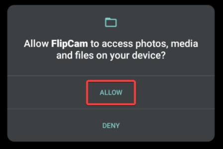 Allow Access 2