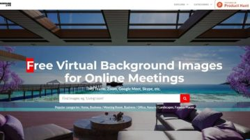Free Website to Download Virtual Backgrounds for Meet, MS Teams, Zoom