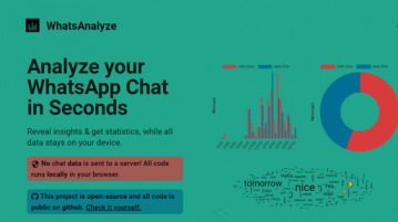Free WhatsApp Chat Analyzer to see message frequency, most active sender