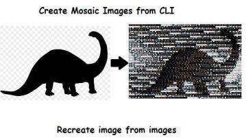 Command Line Tool to Create Image Mosaics Polyfoto