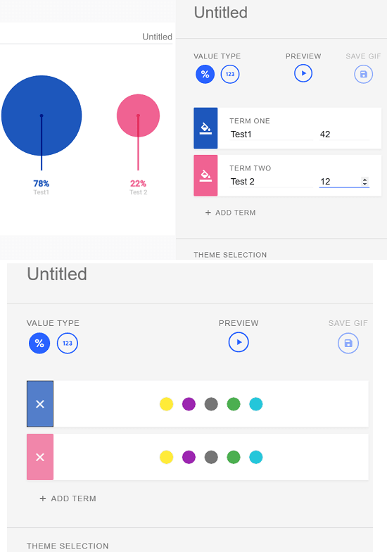 Data Gif Maker Create Chart