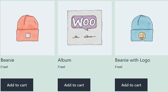 Display Price Free WordPress WooCommerce