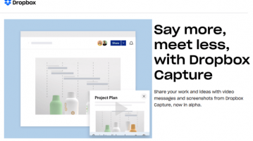 Dropbox Capture Loom Alternative to Record Video Messages, Screen Recording