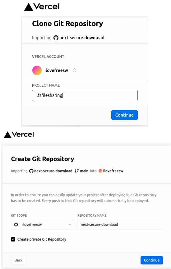Give name to GitHub repo