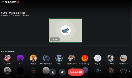 Host Cloubhouse Like Audio Events on Discord