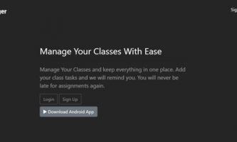 Free Online Semester Classes And Tasks Manager: My Class Manager