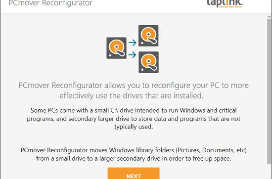 Free Software by Laplink to Change Default Windows Folder Locations