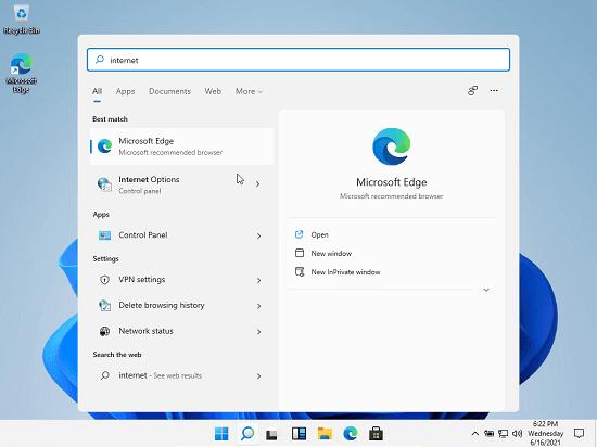 Windows 11 Taskbar Search