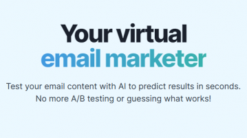 A B Testing tool for Email Subject, Body Content to Predict Open Rate