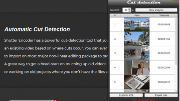 Automatically Detect Scenes to Cut in a Video