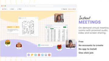 Create Free Video Meetings Online with Notepad, Whiteboard, No Sign Up Tilde