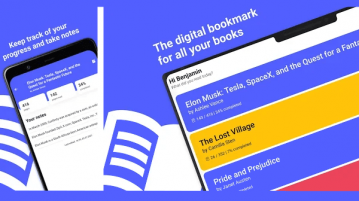 Digital Bookmarking app to Track Progress of your Book Reading Markee