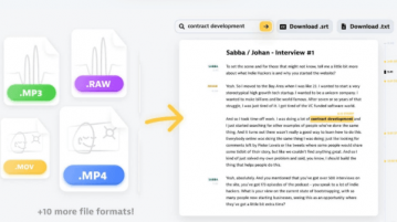 Free Online Automatic Podcast Transcription Tool Welder