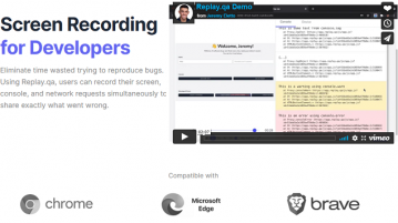 Free Screen Recording Tool to Record Screen with Browser Console, Network Tab