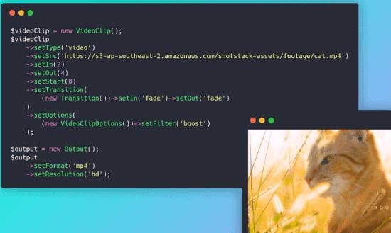 Generate, Edit videos using API Free Shotstack