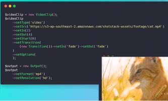 Generate, Edit videos using API Free: Shotstack