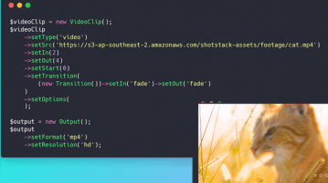 Generate, Edit videos using API Shotstack
