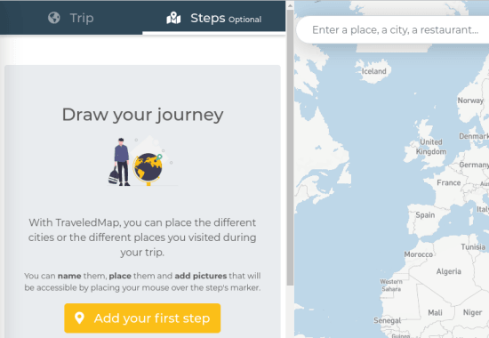 Generate Embeddable Travel Maps Free with Custom Routes TraveledMap