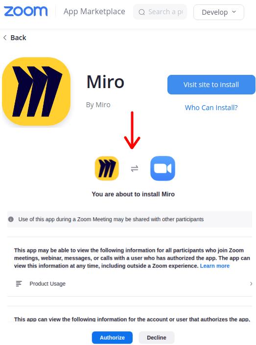 Install Miro