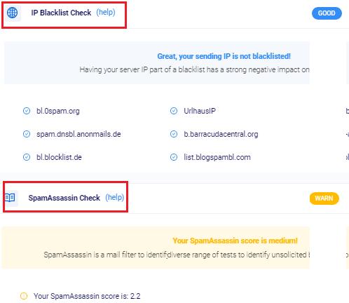 Mailook Spam and IP Blacklist