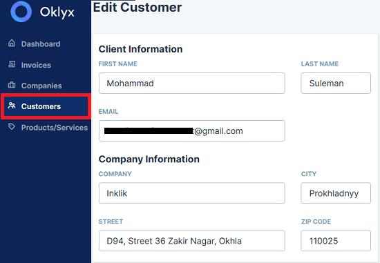 Oklyx Customers