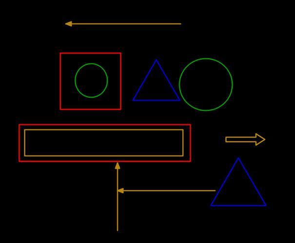 TekaPoint shapes drawingg on screen