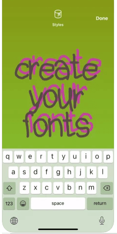 Create Your Own Font using iPhone App