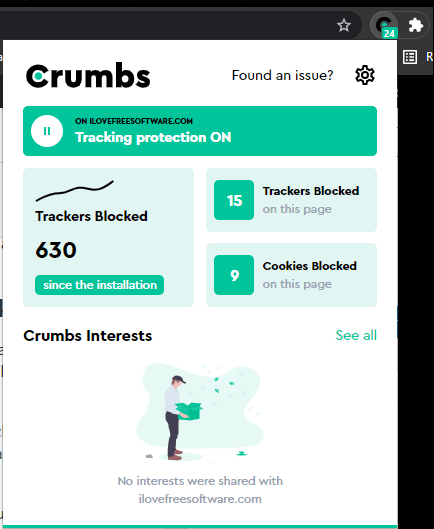 Crumbs Statistics