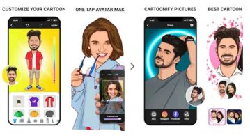 Free Cartoon Maker App to Cartoon Yourself in One Tap using AI ToonApp