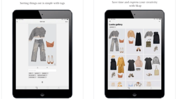 Free Digital Wardrobe iPhone App to Plan Outfits for Whole Month Skap