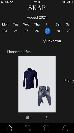 Free Digital Wardrobe iPhone App to Plan Outfits for Whole Month