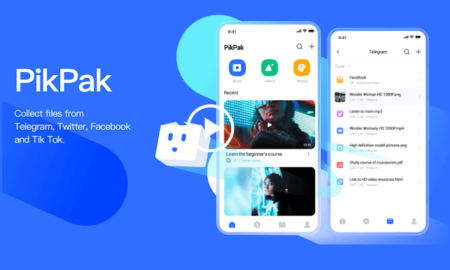 Free app to Save Videos from Telegram, Twitter, Tiktok to Cloud PikPak