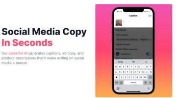 Free tool to Generate Social Media Captions, Ad Copy, Hashtags using GPT-3