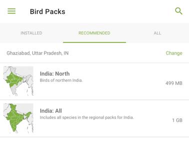 Bird Packs