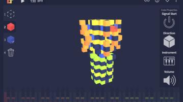 Online 3D Music Sequencer LudoTune