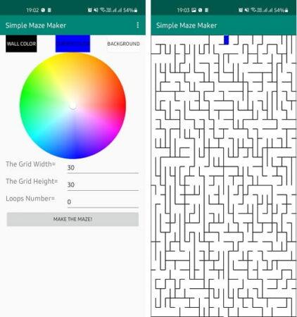 Simple Maze Maker
