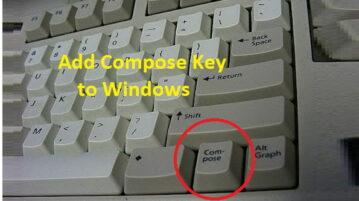 Virtual Compose Key Software for Windows WinCompose
