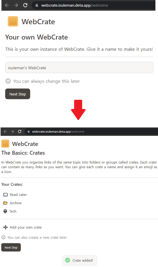 WebCrate New Name
