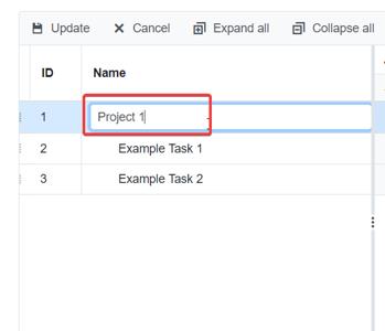 Edit Task List