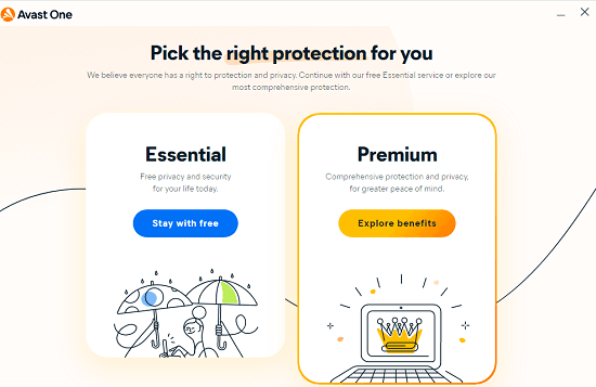 Avast One Select Version
