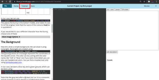 Blue Game Builder UI