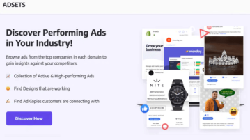 Browse High Performing Facebook Ads of Companies on this Website AdSets