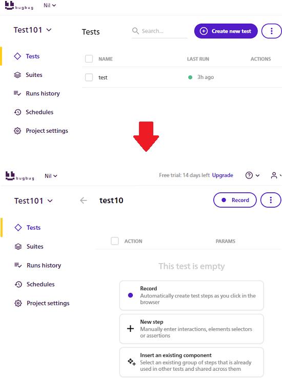 BugBug Create Tasks