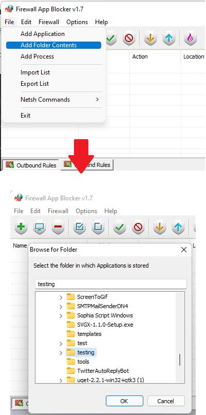 Fab Add Folder