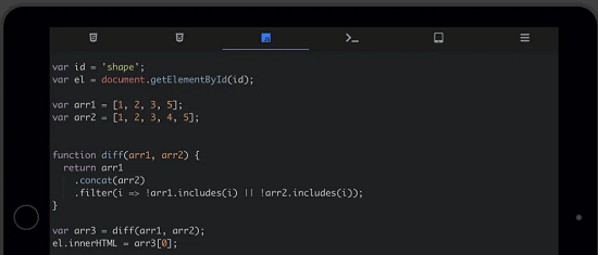 Free CodePen Alternative for Mobile to Write HTML, CSS, JS Webden