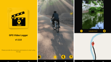 Free GPS Video Logger app to Record Video and Live Location Together